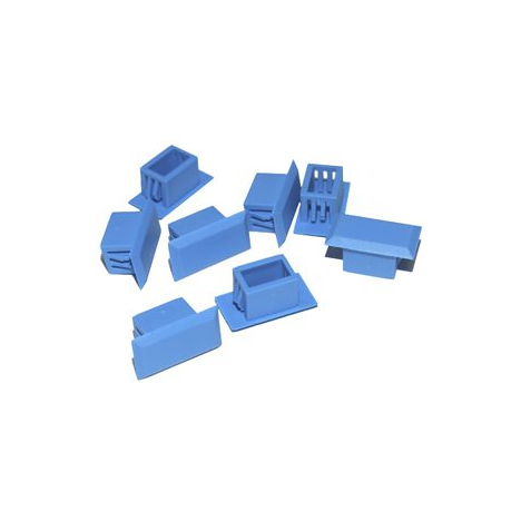 Пластиковые заглушки для квадратных отверстий в оптических кроссах SNR-PLUG-SC (100шт)