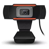 Web Камера HD 1280х720 1080p для ПК c микрофоном. Для учебы, работы. Интернет веб USB