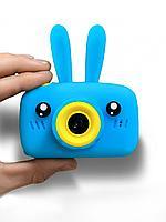 Детский фотоаппарат цифровой 20 mp с Ушками. Встроенная память