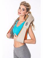 Массажер для шеи спины и плеч 3в1 с инфракрасным подогревом