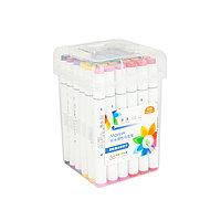 Набор маркеры профессиональные для скетчинга / рисования фломастеры 36 цветов двусторонние