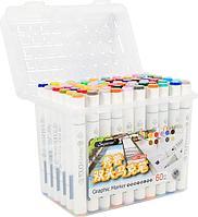 Touch Маркер Superior 60 цветов Оригинал профессиональные для скетчинга