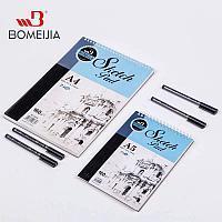 Скетчбук A4 формат скетчпад 24 листа для скетчинга рисования