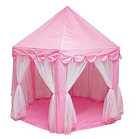 Детская игровая палатка замок размеры 135х135х140 см