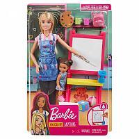 Кукла Mattel Barbie Art Teacher Учитель рисования