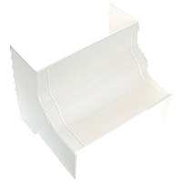 Угол внутренний изменяемый для кабельного канала 130х50