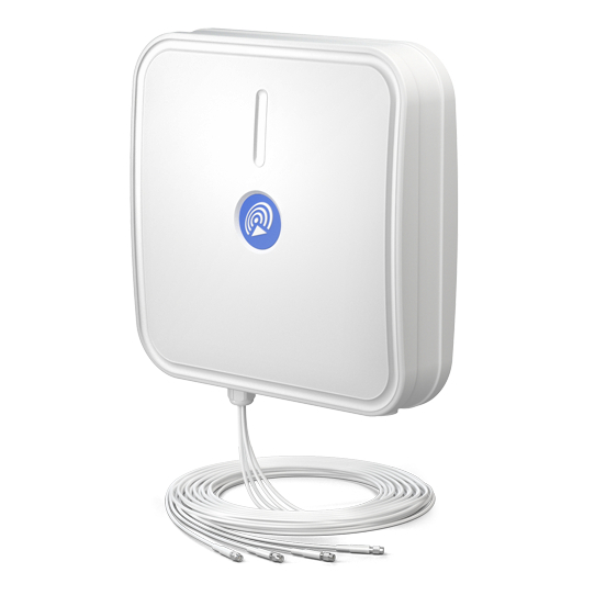 Секторная антенна QuPanel LTE HP MIMO 4x4, LTE, 10м кабель, SMA разъём