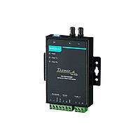 TCF-142-M-ST Преобразователь RS-232/422/485 в многомодовое оптоволокно MOXA