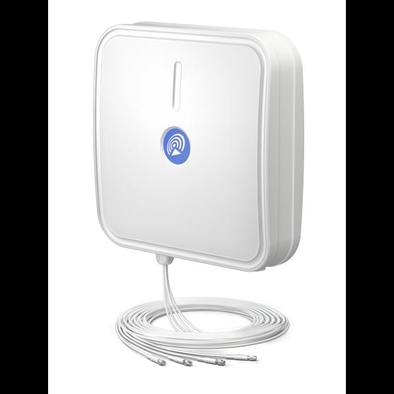 Секторная антенна QuPanel 5G/LTE MIMO 4x4, LTE/5G, 10м кабель, SMA разъём