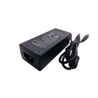 Блок питания SNR-PS-AC/DC-12/5 12В, 5А, 5x2.1мм коннектор, кабель с вилкой для подкл. к 220В