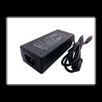 Блок питания SNR-PS-AC/DC-52/2.3, 52В, 2.3А, 5x2.1мм коннектор, кабель с вилкой для подкл. к 220В