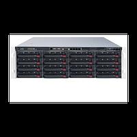 Видеосервер Линия NVR-128 SuperStorage для IP-видеокамер. Количество каналов: видео - 128, аудио - 128, до 16