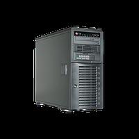 Видеосервер Линия NVR-32 SuperStorage для IP-видеокамер. Количество каналов: видео - 32, аудио - 32, до 8 HDD,