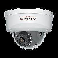 IP камера OMNY A15F 28 антивандальная купольная OMNY PRO серии Альфа, 5Мп c ИК подсветкой, 12В/PoE 802.3af,