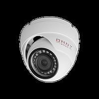 IP камера OMNY BASE miniDome4-WDU миникупольная 4Мп (2592x1520) 18к/с, 2.8мм, F1.8, 802.3af A/B, 12±1В DC, ИК