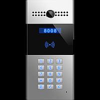 Многоабонентский SIP видеодомофон SNR-MVDP1 с клавиатурой, считывателем карт, камерой, PoE 802.3af, 12V DC