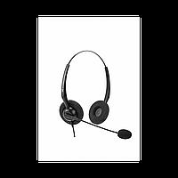 Проводная гарнитура VT1000-D RJ9(03), Дуо, Узкополосный звук