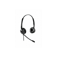 Проводная гарнитура VT6200-D QD(P)-RJ9(03), Дуо, HD звук, QD, переходник QD-RJ09(03)
