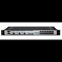 Оптический мультиплексор 4xE1+2хGigabit Ethernet 1000BASE-T без SFP трансиверов T501.118.400