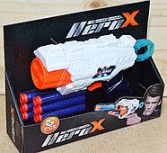 7213 Пистолет Herox + 6 пулек 21*16см, фото 2