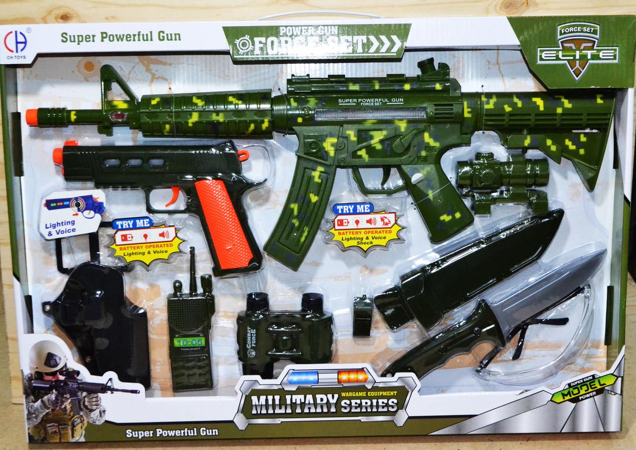 CH910A-1  MILITARY серия ForceSet военный набор 10 предметов 58*40см