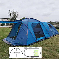 Палатка MIN X-ART 1600W Четрехмеастная