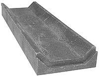 Лоток водоотведения ЛВ-50, полимер песчаный 500х150х50мм (Серый)