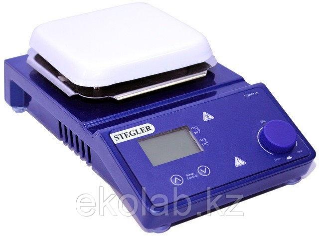 Мешалка магнитная Stegler HS-Pro Digital (с подогревом, +380 °С, 10 литров)