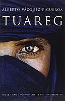 """Книга """"Туарег"""" на английском языке, Альберто Васкес-Фигероа, мягкий переплет(Букинистика)"""