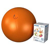 Фитбол гимнастический Альпина Пласт Стандарт 55 см orange