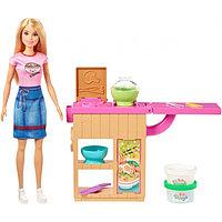 Кукла Барби Игровой набор Barbie Приготовление лапши