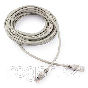 Патч-корд UTP Cablexpert PP12-7.5M кат.5e, 7.5м, литой, многожильный (серый)