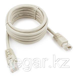 Патч-корд UTP Cablexpert PP6U-2M кат.6, 2м, литой, многожильный (серый)
