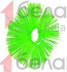 Кольцо щеточное ПП 120/550 (беспроставочное)