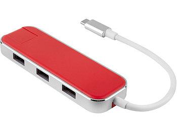 Хаб USB Rombica Type-C Chronos Red
