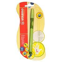 Ручка шариковая STABILO LeftRight, для левшей, для обучения письму, зеленая
