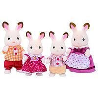 Sylvanian Families: Семья шоколадных кроликов, фигурки животных, игровой набор, подарок девочке