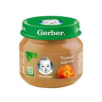 Gerber: Пюре 80г Персик