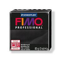 Масса для лепки Fimo professional  black 85g