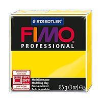 Масса для лепки Fimo professional  yellow 85g