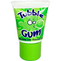"Жевательная резинка Lutti Tubble Gum ""Apple"" 1 шт  Франция"