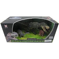 XGL: Набор динозавров 3 шт. Серия D