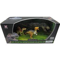 XGL: Набор динозавров 3 шт. Серия E