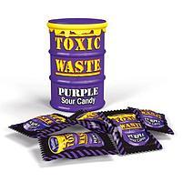Леденцы TOXIC WASTE фиолетовая банка 42грх12х12