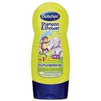"""Buebchen: BU4 Шампунь """"Джунгли зовут"""" 230 мл для мытья волос и тела"""
