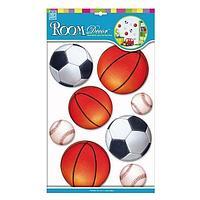 Стикер Спортивные мячи RCA 2111