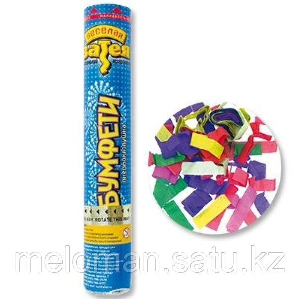 Веселая затея: Хлопушка Бумфети 20см конфетти бумага - фото 1