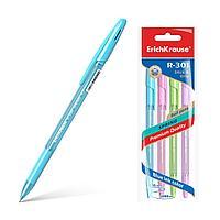 Ручка шариковая ErichKrause® R-301 Spring Stick&Grip 4 шт