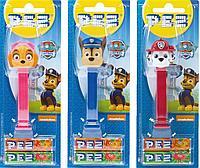 PEZ Игрушка с конфетой 1+2 (Щенячий патруль) (Венгрия)