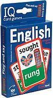 Степичев П. А.: Умные игры с картами. Английские неправильные глаголы. Уровень 2. Синий